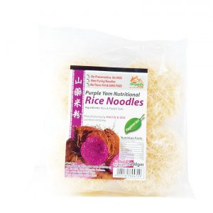 Purple Yam Nutrional Rice Noodle | 360 Organic Cottage